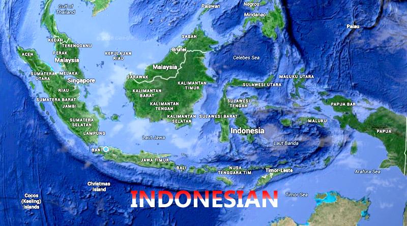 peta indonesa