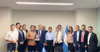Pertemuan AP5I dengan Delegasi Pengusaha Makanan Argentina – 23 Juli 2019