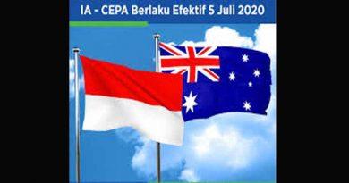 Indonesia dan Australia sepakat bahwa Indonesia – Australia Comprehensive Economic Partnership Agreement ( IA-CEPA )