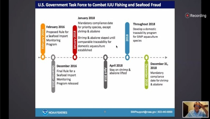 "Webinar "" Prospek dan Tantangan Ekspor Produk Perikanan Indonesia ke Amerika Serikat Pasca Covid-19 "" – 21 Juli 2020"
