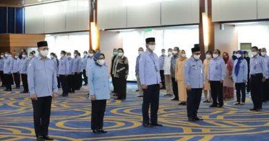 Pelantikan 4 Pejabat Ruang Lingkup Kementerian Kelautan dan Perikanan RI