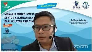 Webinar Menarik Minat Investasi Sektor KP Dari Wilayah Asia Timur – 30 September 2020