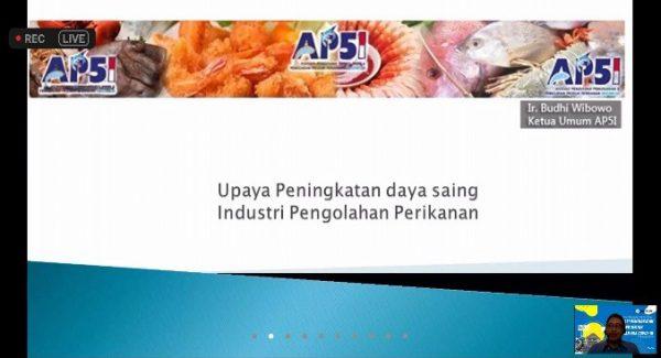 Seminar Akselerasi Peningkatan Daya Saing Sektor Perikanan Pasca Covid 19 – 7 Oktober 2020
