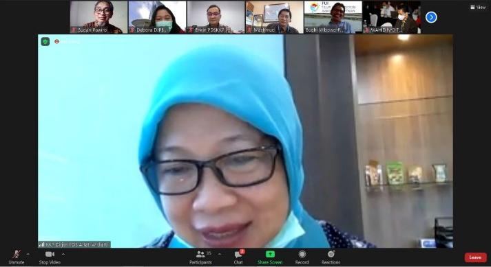 Rapat Pembahasan Upaya Penguatan Branding dan Promosi Udang Indonesia – 22 Januari 2021