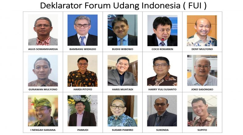 Forum Udang Indonesia ( FUI ) – 10 Januari 2021