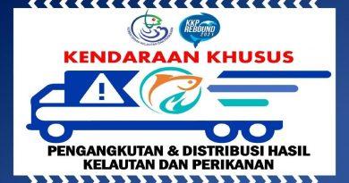 Sticker untuk Kelancaran Pengiriman dan Distribusi Hasil Kelautan dan Perikanan di masa PPKM Darurat Jawa dan Bali