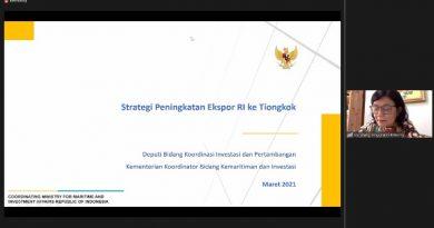 Rapat Koordinasi Peningkatan Kegiatan Ekspor – 22 Maret 2021