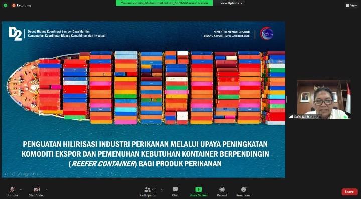 Rapat koordinasi Pemenuhan Kebutuhan Container Berpendingin – 7 Juni 2021